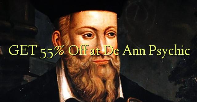 PATA 55% Ondoka kwa De Ann Psychic