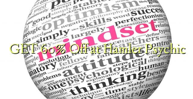 Pata 60% Off at Hamler Psychic