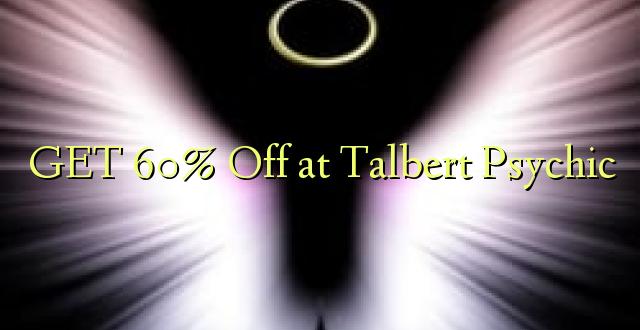 PATA 60% Ondoka kwa Talbert Psychic