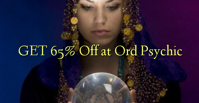 PATA 65% Ondoka Ord Psychic