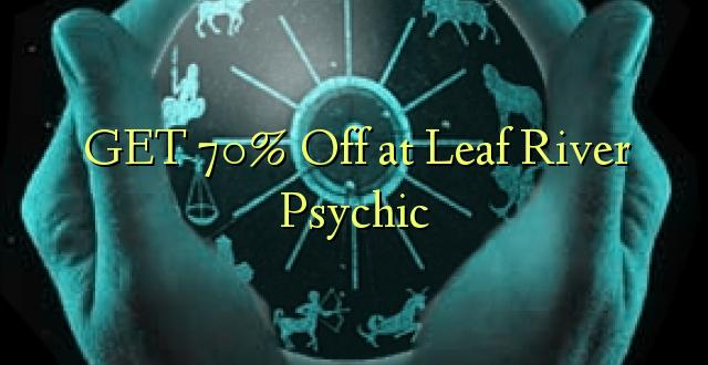 Pata 70% Toka kwenye Mto wa Leaf Psychic