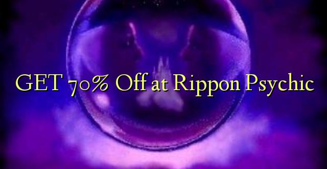 Pata 70% Off huko Rippon Psychic