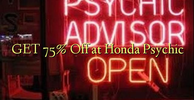 Pata 75% Ole kwa Honda Psychic