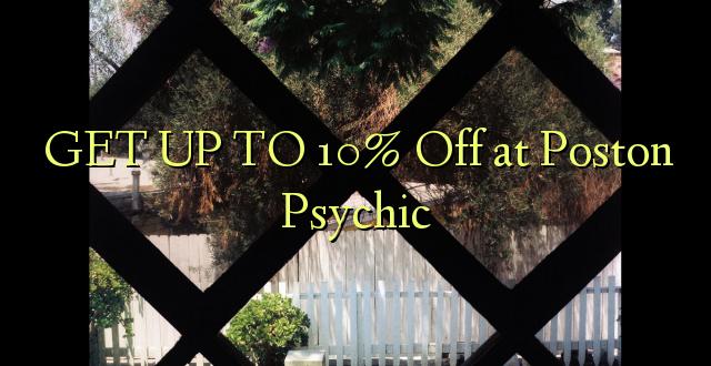 BONYEZA KWA 10% Off at Poston Psychic
