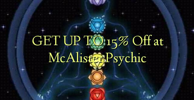 PATA NA 15% Oka McAlister Psychic