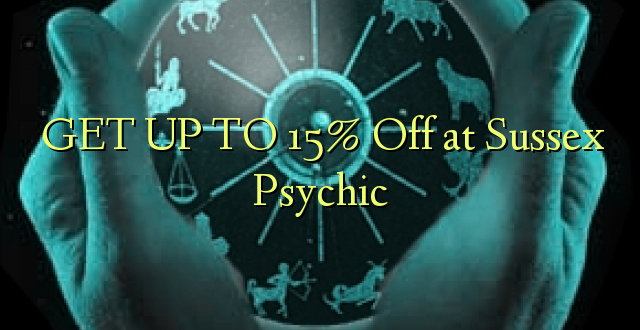 BONYEZA KUFANYA 15% Off at Sussex Psychic
