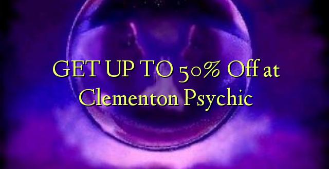 BONYEZA KWA 50% Ondoka kwa Clementon Psychic