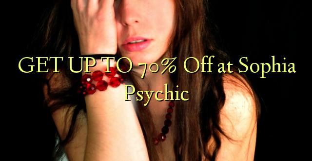 Pata hadi 70% Toa kwenye Sophia Psychic