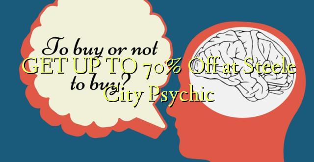 BONYEZA KWA 70% Ole huko Steele City Psychic