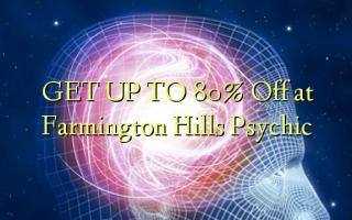 FÅ OP TIL 80% Off på Farmington Hills Psychic