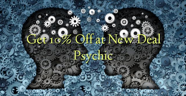 Pata 10% Off katika Psychic Mpya Deal
