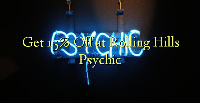Pata 15% Off at Rolling Hills Psychic
