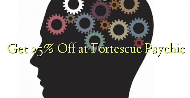 Pata 25% Off at Fortescue Psychic
