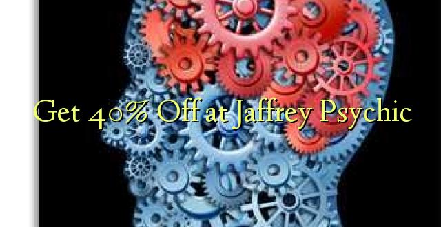 Pumzika 40% huko Jaffrey Psychic