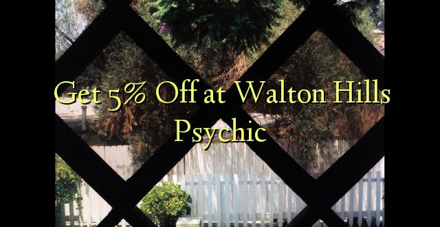 Pata 5% Off at Walton Hills Psychic