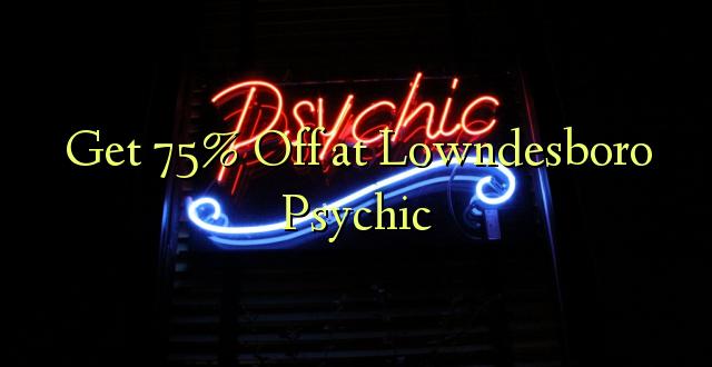 Pata 75% Off at Lowndesboro Psychic
