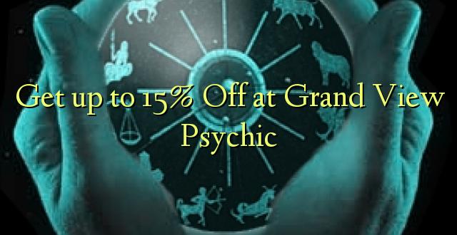 Anuka hadi 15% Off at Grand View Psychic