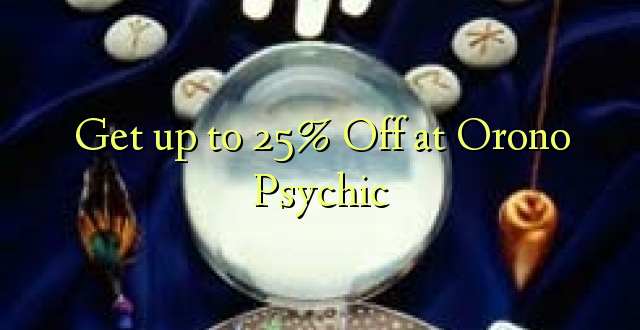 Anuka hadi 25% Off at Orono Psychic