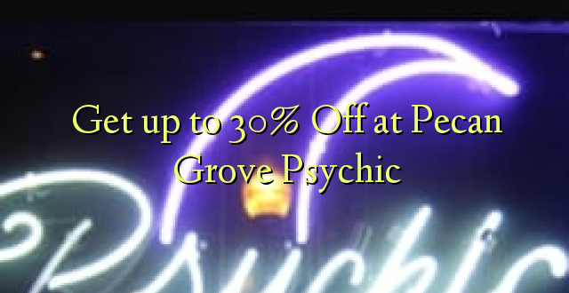 Anuka hadi 30% Off at Pecan Grove Psychic