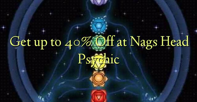 Anuka hadi 40% Off at Nags Head Psychic