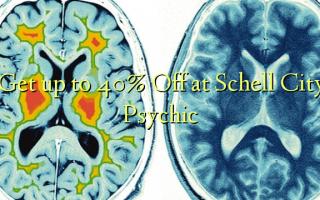 Få op til 40% Off på Schell City Psychic
