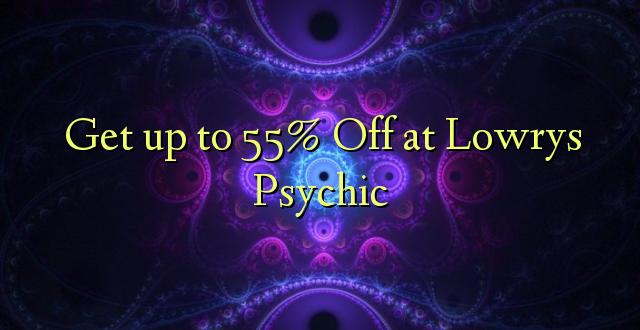 Anuka hadi 55% Off at Lowrys Psychic