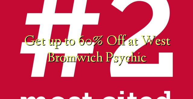 Anuka hadi 60% Off at West Bromwich Psychic