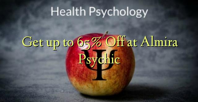 Anuka hadi 65% Ondoka kwa Almira Psychic