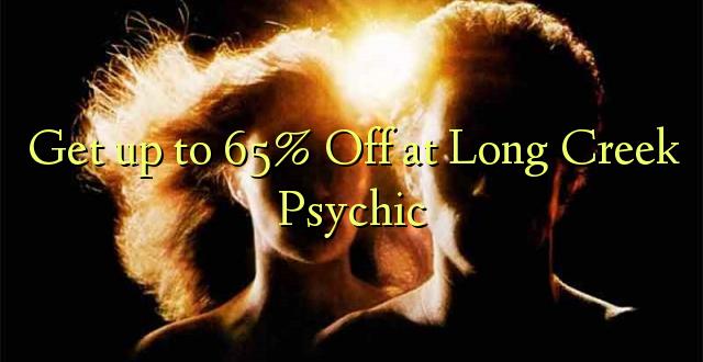 Anuka hadi 65% Off at Long Creek Psychic