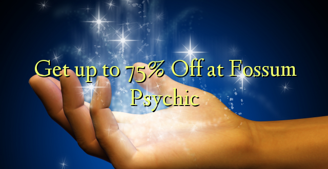 Anuka hadi 75% Off at Fossum Psychic