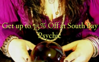 Получите скидку до 75 в South Bay Psychic