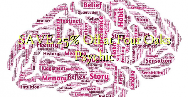SAVE 25% Off at Oaks Psychic