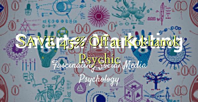 SAVE 45% Off at Kokhanok Psychic