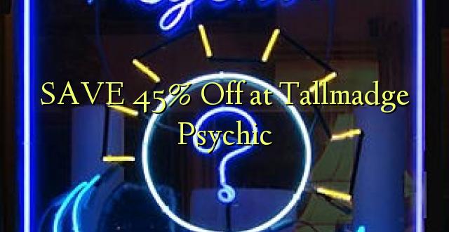 SAA 45% Off at Tallmadge Psychic