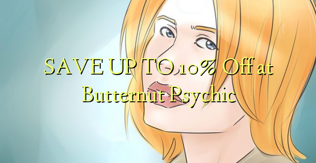BONYEZA KWA 10% Off at Butternut Psychic