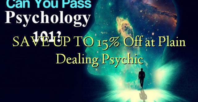 BONYEZA KWA 15% Off at Plain Dealing Psychic