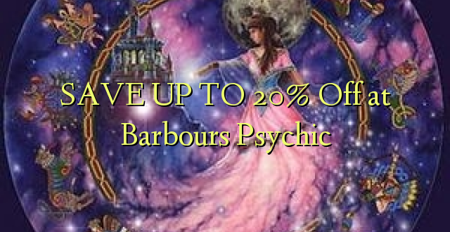 BONYEZA KWA 20% Off at Barbours Psychic