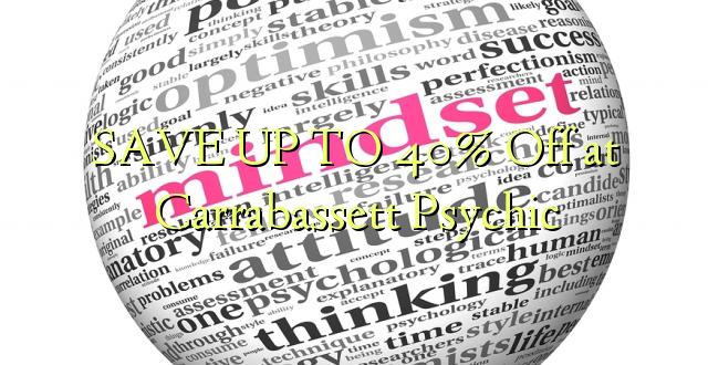SAVE UP TO 40% Kutoka kwenye Carrabassett Psychic