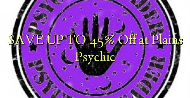 SAVE UP TO 45% Kutoka kwenye Milima Psychic
