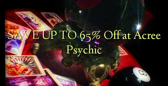 BONYEZA KWA 65% Off at Psychic Acree