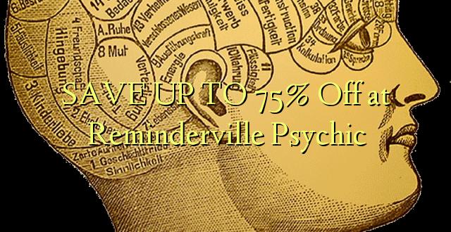 BONYEZA KWA 75% Off at Reminderville Psychic