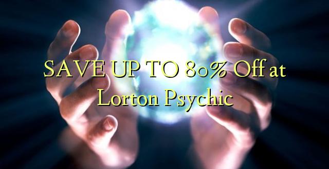BONYEZA KWA 80% Ondoka huko Lorton Psychic