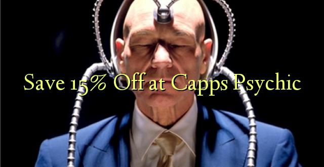 Okoa 15% Off katika Capps Psychic