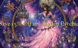 Gem 15% Off ved Langdon Psychic