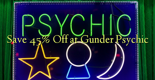 Okoa 45% Off at Gunder Psychic