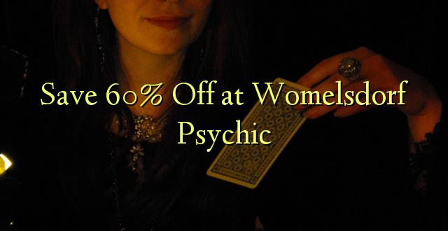 Okoa 60% Off katika Womelsdorf Psychic