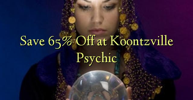 Okoa 65% Off katika Koontzville Psychic
