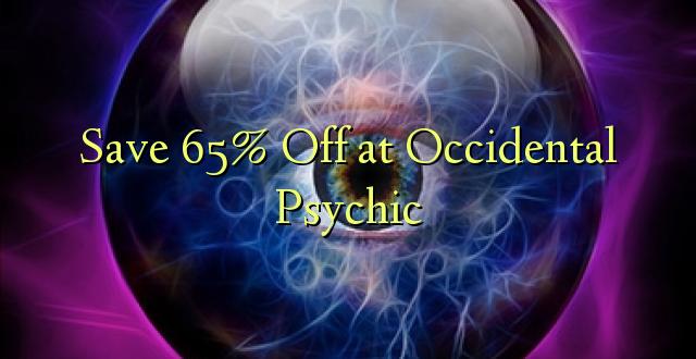 Okoa 65% Off katika Psychic ya kawaida