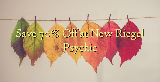 Okoa 70% Off katika New Riegel Psychic