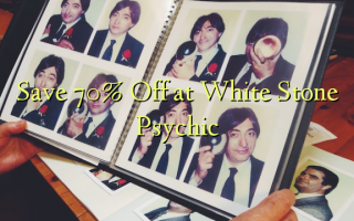 Save 70% Off at White Stone Psychic